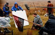 Bradley James and Colin Morgan Behind The Scenes Series 3