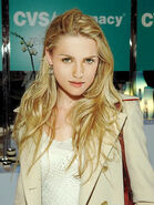Katie McGrath with Blond Hair