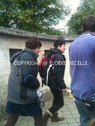 Alexander Vlahos and Colin Morgan Behind The Scenes Series 5