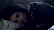 Morgana feels Uther's death 8