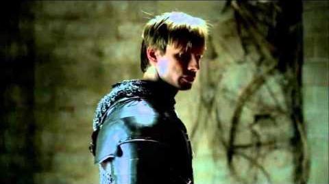 "Merlin 5×04 Arthur is ambushed ""Another's Sorrow"""