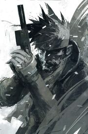 Solid Snake by Ashley Wood