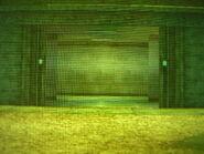 Prison building entrance