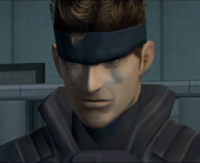 MGS-TTS - Solid Snake (Face)
