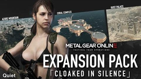 "Official METAL GEAR ONLINE BREAK THE SILENCE - EXPANSION PACK ""CLOAKED IN SILENCE"" (PEGI)"