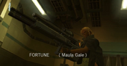 MGS2 Fortune introduction