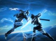 Cole vs Raiden intro