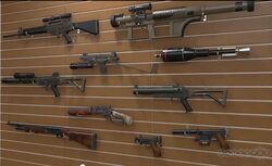 MGS5 Guns
