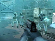 MGS TTS armored arctic soldiers screenshot