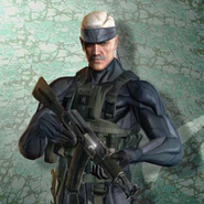 Old Snake el protagonista del juego