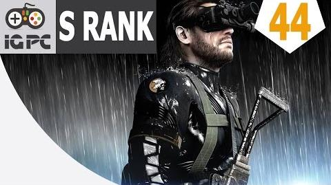 Metal Gear Solid V The Phantom Pain Episode 44 Total Stealth Pitch Dark S Rank