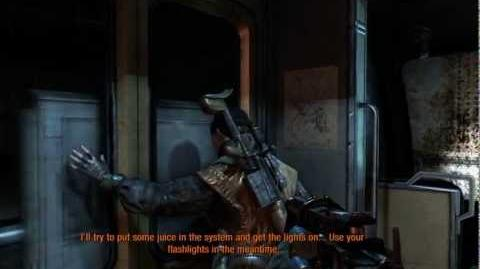 Metro Last Light (Ranger Hardcore Pacifist Walkthrough) Ashes (A train to the past)-0