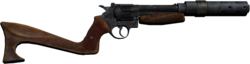 Revolver stock silencer 1