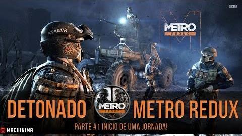 Metro Redux na GTX 750 SC PC 1-Inicio de Uma Jornada!