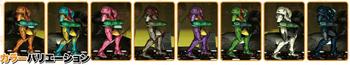 Samus Famitsu palette swaps.png