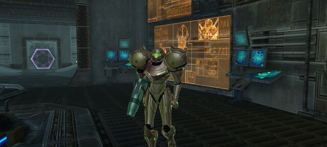 File:Samus approaches Metroid Aether.jpg