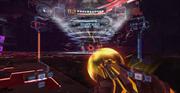 Vortex spin Quadraxis