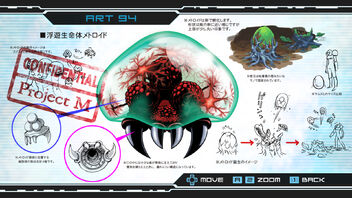 Metroid Other M Metroid Art 94