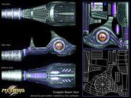 Kohler grapple gun