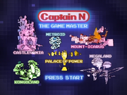 Captain N DVD Menu