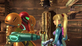 Samus in both forms.png