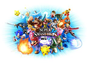 SSB4U cover full artwork