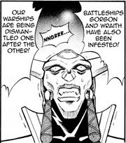 Battleships Gorgon and Wraith
