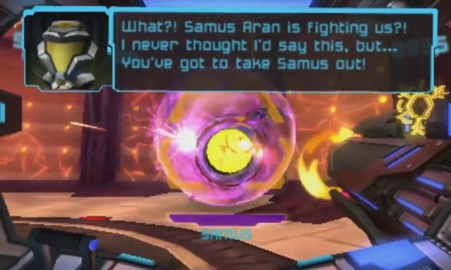 File:Now the player has to fight her in her Morph Ball form.jpg
