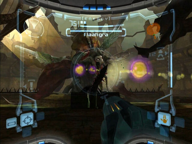 File:Sunchamber flaahgra projectile attack battle 2 dolphin hd.jpg
