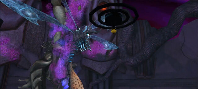 File:Dark Torvus Temple Chykka breaks out of cocoon Dolphin HD.jpg