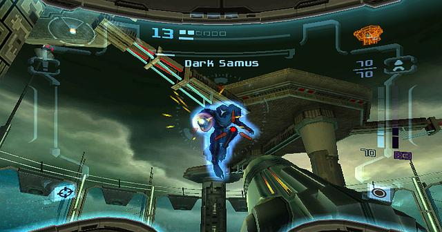 File:Prime Trilogy Promotional Dark Samus Fortress battle.jpg