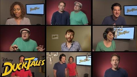 """All-New """"DuckTales"""" Cast Sings Original Theme Song Disney XD"""