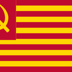 Flag of the Worker's Party of the Cockatiel Empire