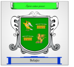 Belajio coat of arms