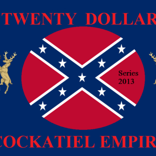 Twenty Cockatiel Dollars (Series 2013)