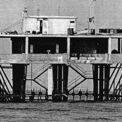 Rose Island prior to its destruction.