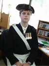 Ben Felix in cer uniform