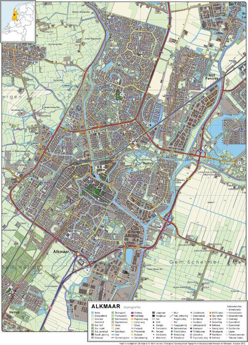 Alkmaar-topografie-1-