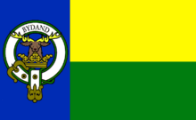 Flag of Clan Gordon of Texas