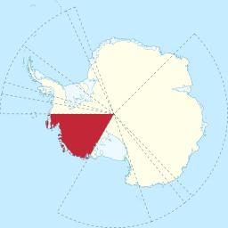 Marie Byrd Land in Antarctica
