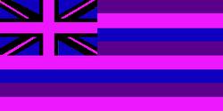 Hawaiian Territory Flag