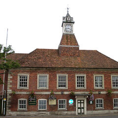 One of the Churches in Wilton