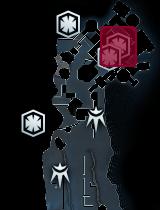 Frowning Skull map