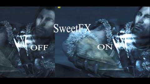 SweetFX enabled in - Middle Earth Shadow of Mordor - gameplay PC Win 8