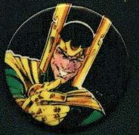 Merchandise button-loki