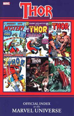 Thor Official Index to the Marvel Universe TPB Vol 1 1
