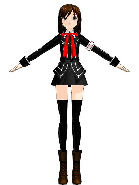 Yuki Cross (Jjinomu) | MikuMikuDance Wiki | FANDOM powered ...