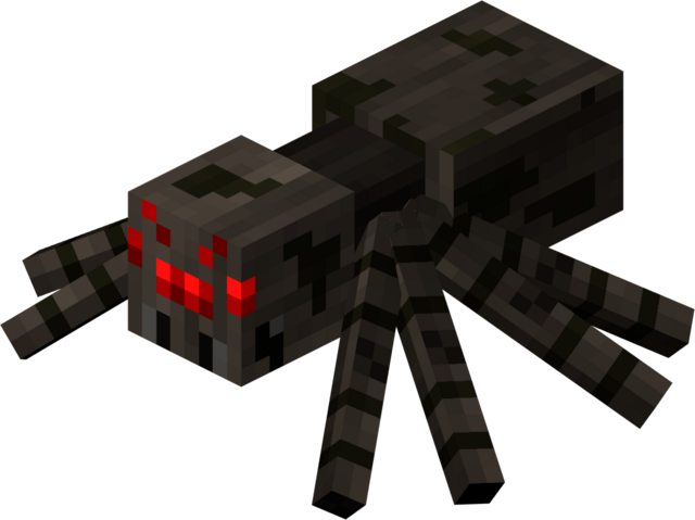 File:Spider minecraft.png