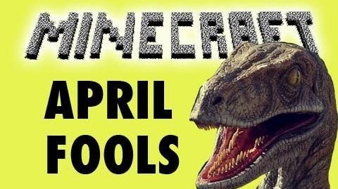 Minecraft April Fools