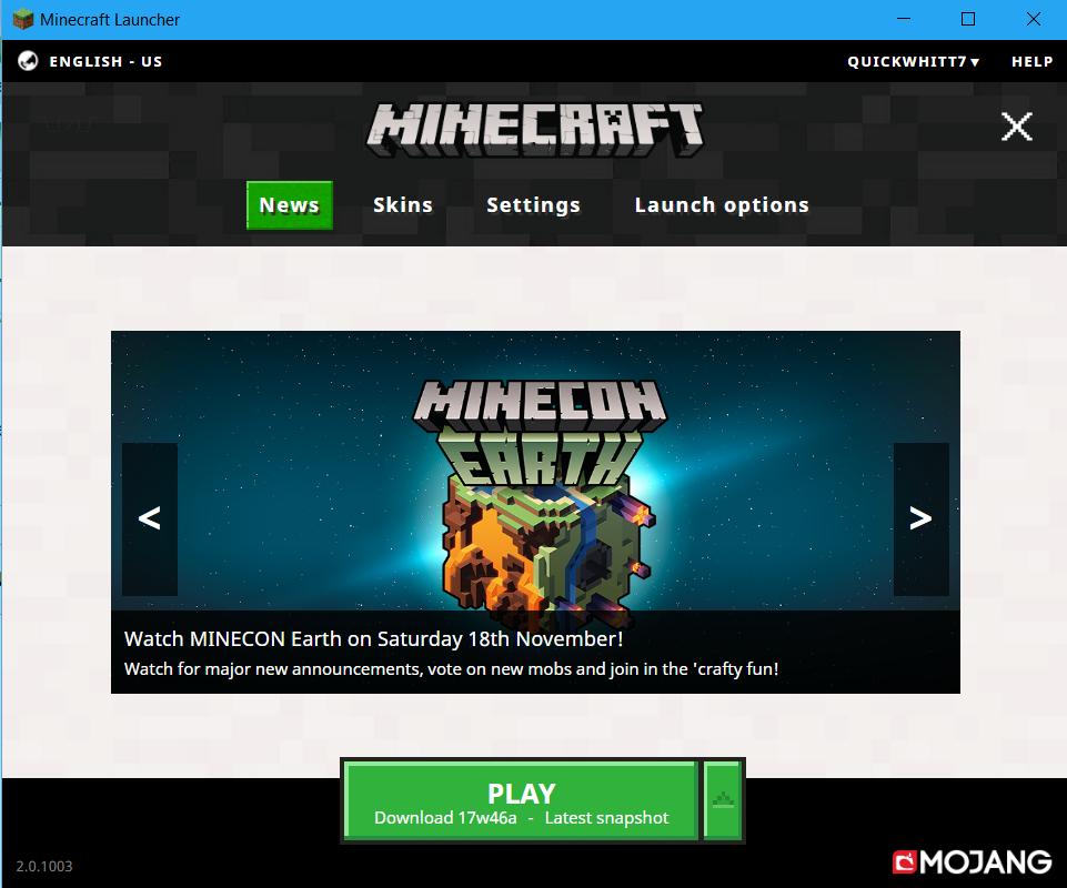 Minecraft Launcher | Minecraft Wiki | Fandom powered by Wikia